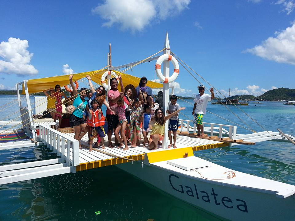 Galatea party boat Siargao