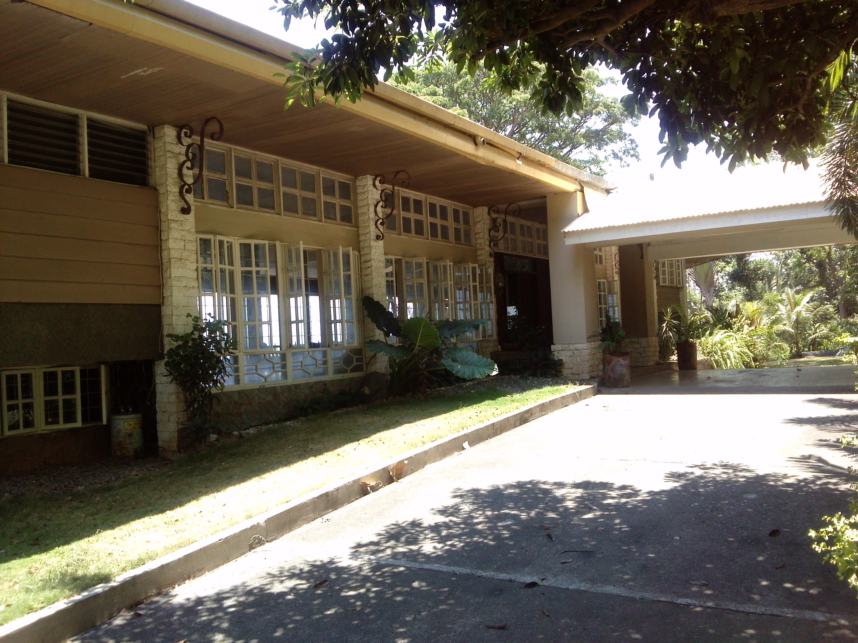 The Malasag House entrance