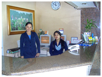 Cebu Northwinds Hotel staff.